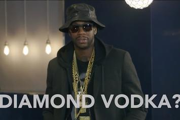 "2 Chainz & Big Sean Try Diamond-Infused Vodka For ""Most Expensivest Shit"""