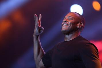 "Dr. Dre Wants To ""Inspire"" People With ""Straight Outta Compton"" Biopic"