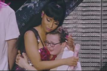 Nicki Minaj's Breasts Stopped A Kid From Crying