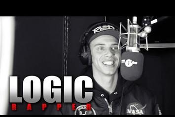 "Logic ""Fire In The Booth"" Freestyle"