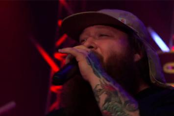 """Action Bronson Performs """"Actin' Crazy"""" On Skee TV"""