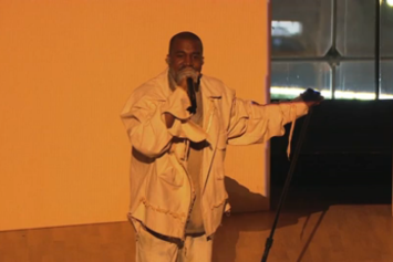 "Kanye West Performs ""Only One"" At The Time 100 Gala"