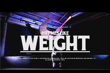 "Curren$y ""Rhymes Like Weight"" Video"