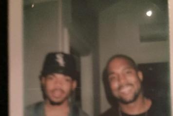 Chance The Rapper & Kanye West Hit The Studio