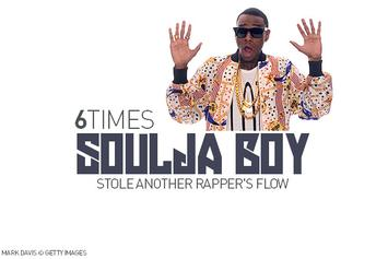 Soulja No Swiping: 6 Times Soulja Boy Stole Another Rapper's Flow