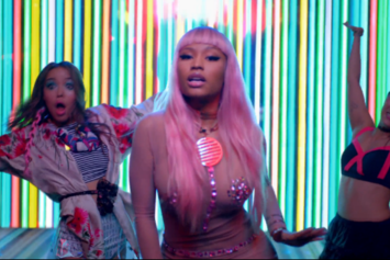 "Nicki Minaj ""The Night Is Still Young"" Video"