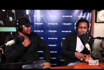 ASAP Rocky Freestyles On Sway In The Morning