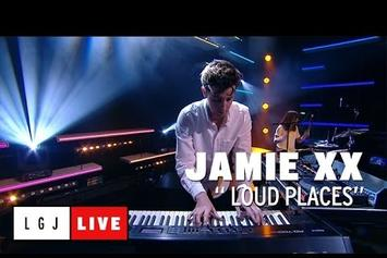 "Jamie xx Performs ""Loud Places"" On French TV"