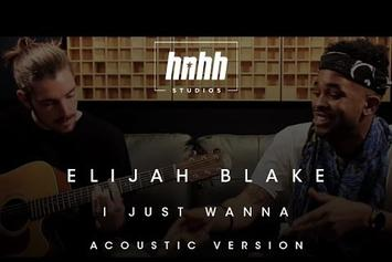 "Elijah Blake Performs Acoustic Version Of ""I Just Wanna"""