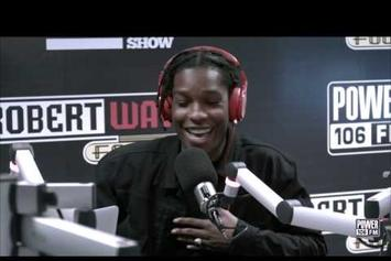 ASAP Rocky Speaks On New Album & Spits Freestyle For The Cruz Show