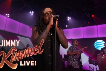 "Wale Performs ""The Matrimony"" On Jimmy Kimmel"