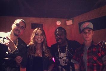 French Montana Logs Studio Time With Justin Bieber & Mariah Carey