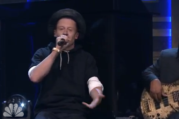 "Macklemore & Ryan Lewis Perform ""Downtown"" On Jimmy Fallon"