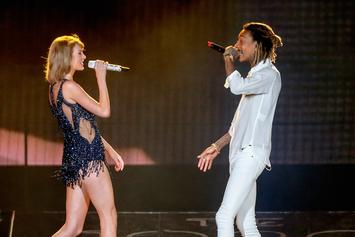 Taylor Swift Brings Out Wiz Khalifa In Houston