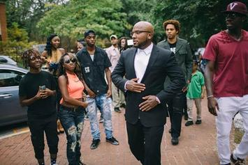 "BTS Pics: Jeezy Shoots Video For ""Church In These Streets"""