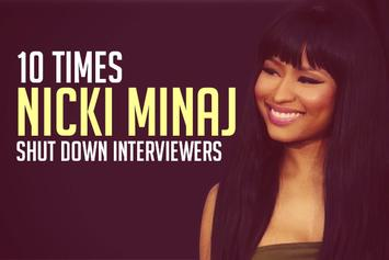10 Times Nicki Minaj Shut Down Interviewers