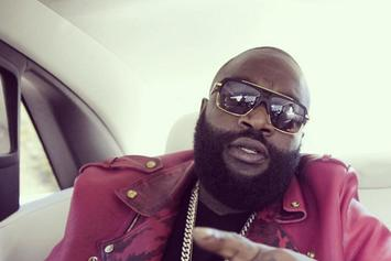 "Rick Ross Reveals ""Black Market"" Cover Art, Praises Adele"