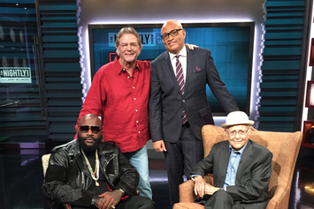 Rick Ross Talks Red Starbucks Cup On Comedy Central's Nightly Show