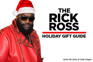 The Rick Ross Holiday Gift Guide