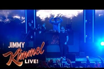 "Run The Jewels Perform ""Crown"" & ""Run The Jewels"" On Jimmy Kimmel"