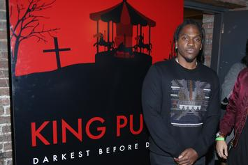 "Stream Pusha T's ""King Push- Darkest Before Dawn: The Prelude"""