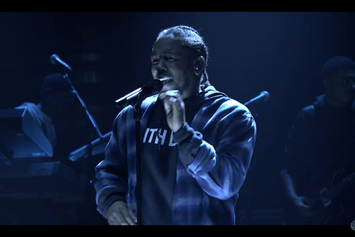 "Kendrick Lamar Debuts New Song ""Untitled II"" On The Tonight Show"