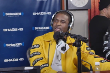 A$AP Ferg Spits Freestyle; Talks Upcoming Album & More On Sway's Morning Show