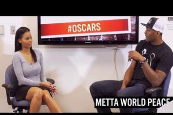 Metta World Peace Talks Oscars & Jada Pinkett Smith's Boycott