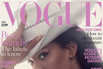 Rihanna Covers British Vogue