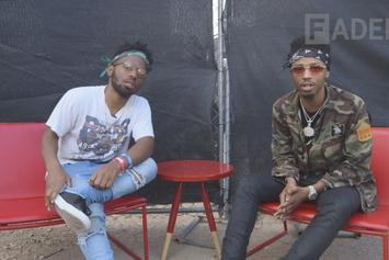 Madeintyo Interviews Metro Boomin' At SXSW