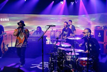 "Anderson .Paak & Schoolboy Q Perform ""Am I Wrong"" On Jimmy Kimmel"