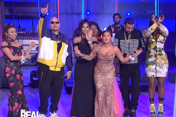 "Fat Joe, Remy Ma & French Montana Perform ""All The Way Up"" Live On ""The Real"""