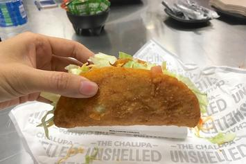 Taco Bell Is Really Making A Taco With A Fried Chicken Shell