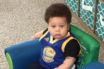 """Meet """"Stuff Curry"""" The Baby Who Became Famous For Looking Like Steph Curry"""