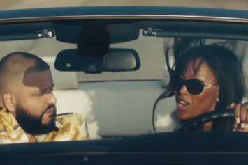 "DJ Khaled & Naomi Campbell Cruise To ""For Free"" In New Apple Music Commercial"