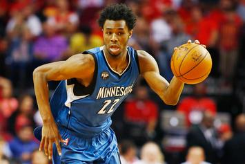 Social Media Roasts Andrew Wiggins' New Adidas Sneakers For Next Season