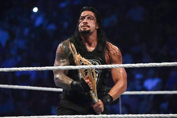 "WWE's Roman Reigns Suspended For Violating ""Wellness Policy"""