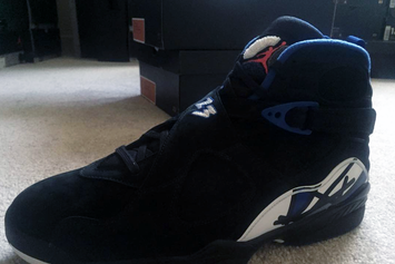 "Drake Got Hooked Up With Some ""Kentucky"" OVO Air Jordan 8s"