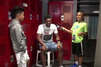 Watch These NBA Draft Prospects Get Grilled By Kid Reporters