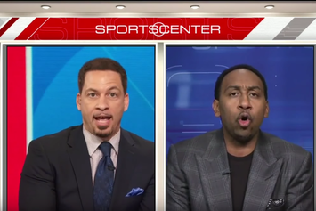 Stephen A. Smith And Chris Broussard Get Into A Shouting Match About Kevin Durant's Decision