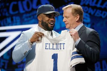 NFL Launches Investigation Into Cowboys' RB Ezekiel Elliott For Alleged Domestic Assault