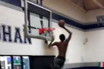 Watch Andrew Wiggins Attempt A 720 Dunk