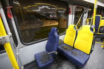Shots Fired At Media Bus Traveling On Rio's Trans Olympic Highway