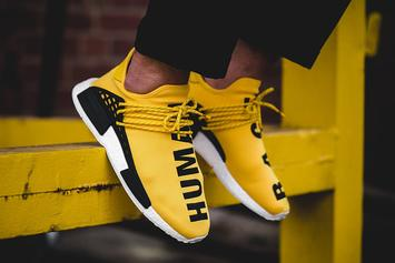 "The Yellow ""Human Race"" Pharrell x Adidas NMD Will Be Releasing Again This Week"