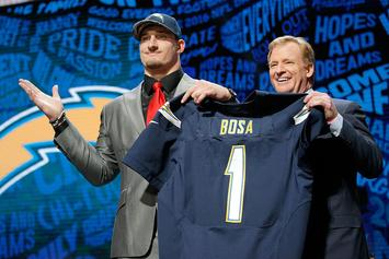 Chargers Release Statement Saying #3 Pick Joey Bosa Has Rejected Their Best Offer