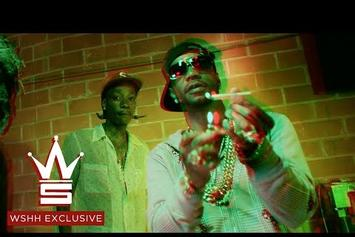 "Wiz Khalifa, Juicy J & TM88 ""Green Suicide"" Video"