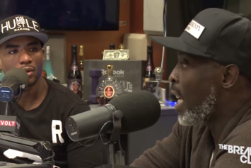 Michael K. Williams On The Breakfast Club