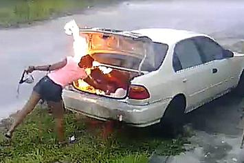 Woman Tries To Get Revenge On Her Ex, Sets The Wrong Car On Fire