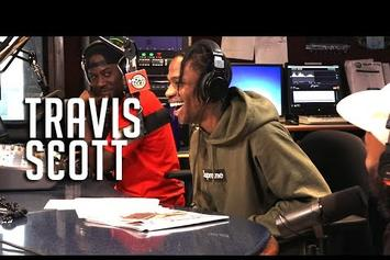 Travis Scott Talks Working With Jay Z & Kid Cudi On Hot 97
