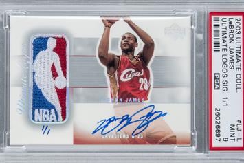 Rare LeBron James Rookie Card Sells For $312,000